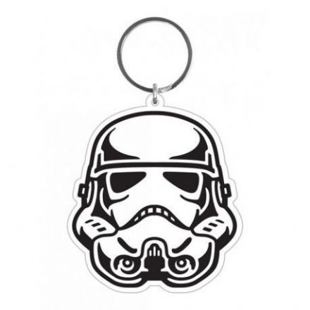 Star Wars Storm Trooper Rubber Keychain